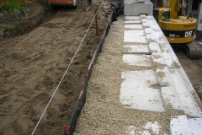 04 retaining wall drainage aggregate